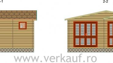 Maison de bois F15.B