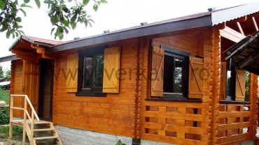 F8 wooden house