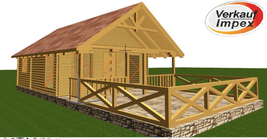 Maison de bois H1