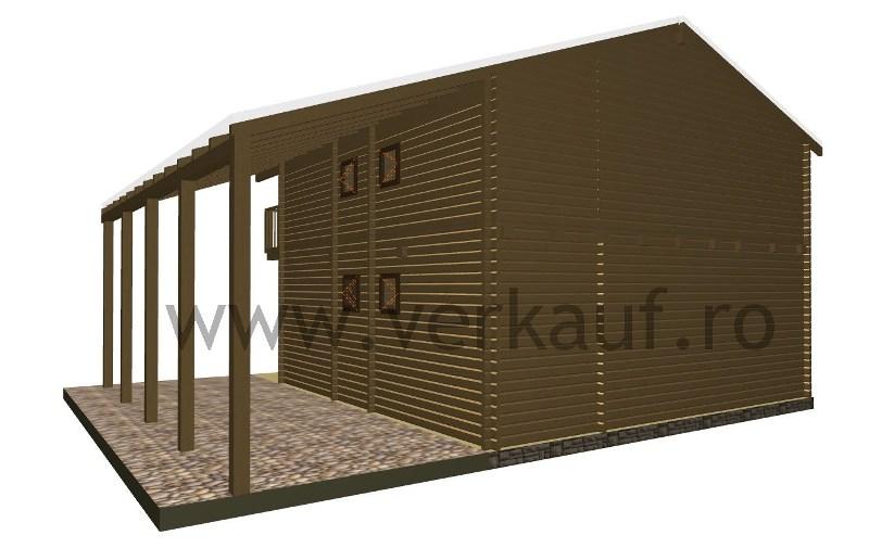 Maison de bois H2