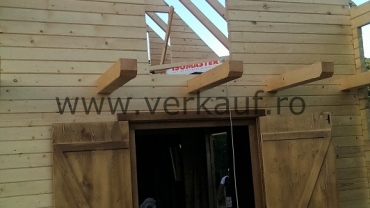 Wooden house H3.B - construction