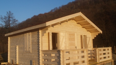 Wooden cottage F2