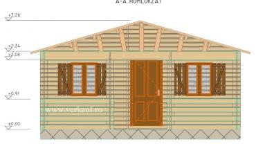 Maison de bois F2.B