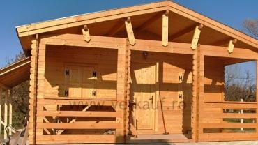 Wooden cottage F2.B