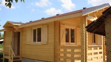 Maison de bois F8