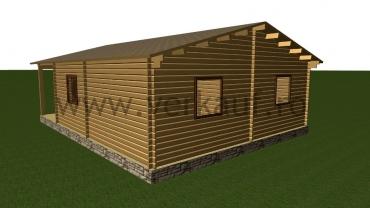 Wooden cottage F9
