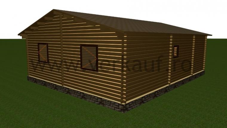 Maison de bois F9