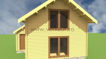 Wooden house H2.C