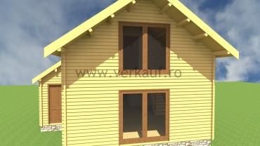 Maison de bois H2.C