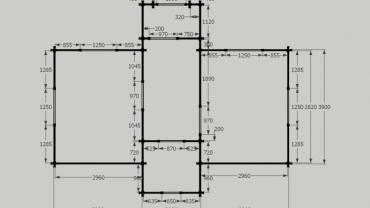 Maison de bois H3