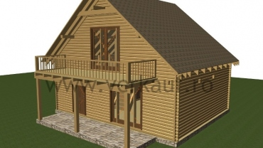 Maison de bois L2