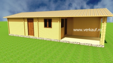 Wooden house type L4