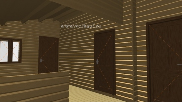 Wooden cottage F2.B