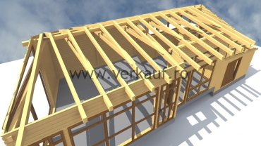 Wooden house H6.C
