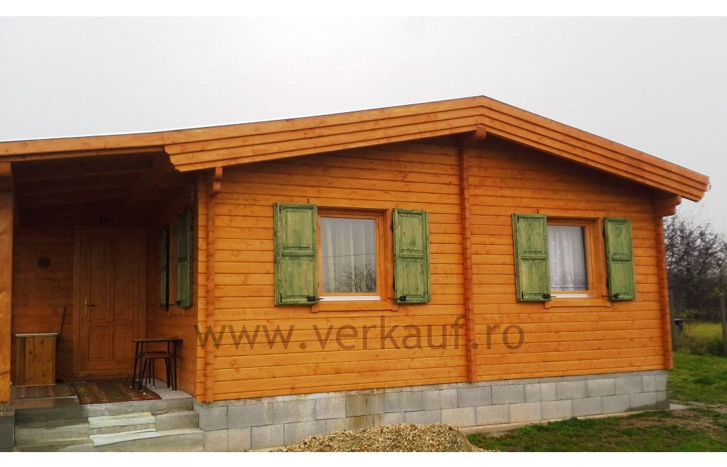 Wooden cottage F1.B