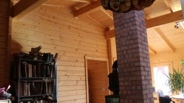 H8 típusú faház