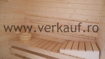 Sauna à l'intérieur