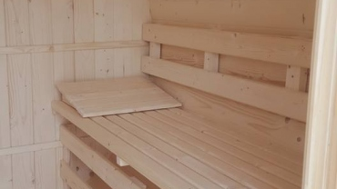 Baignoire de sauna
