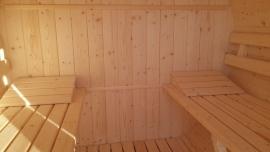 Saună în interior