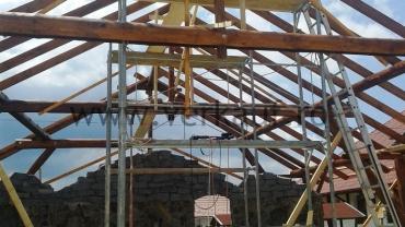 tetőszerkezet építés