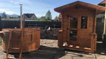 Maison de sauna