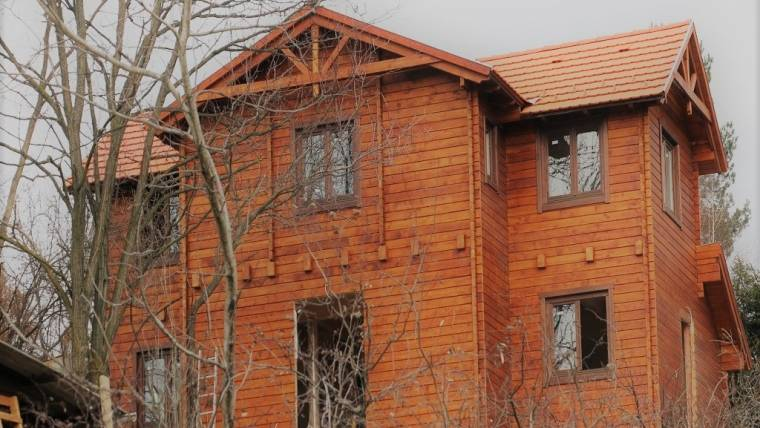 L8 típusú faház