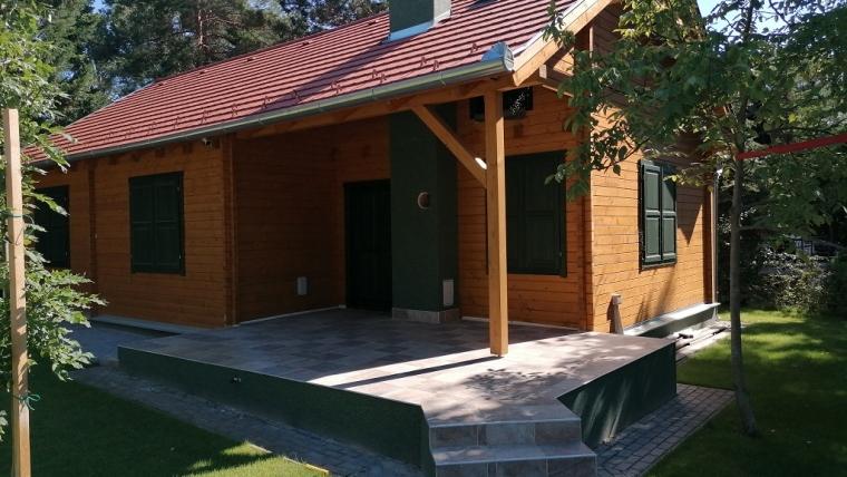 Casa din lemn F19