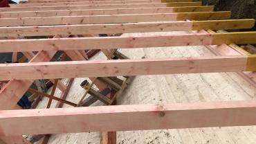 Construire casa din lemn F20