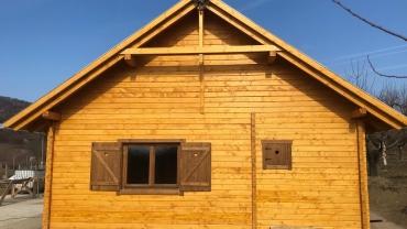 Casa din lemn F20