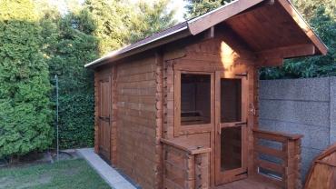 sauna houses
