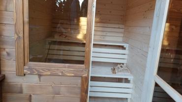 Sauna de gradina